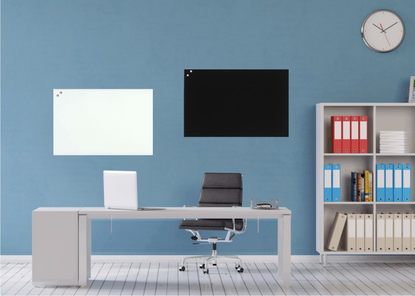 glasmagnettafel 40x60 cm whiteboard magnetboard. Black Bedroom Furniture Sets. Home Design Ideas